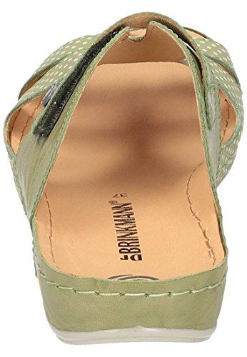Dr. Brinkmann Dames-pantolette Groen 701206-7 Groen