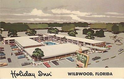 F0256 FL, Wildwood Holiday Inn Postcard