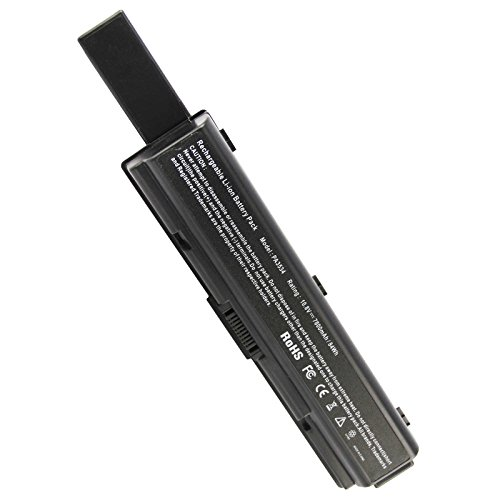Battery Series L500 - Fancy Buying Replacement Laptop Battery for Toshiba Satellite A505 Series, A505-S6004, A505-S6005, A505-S6007, A505-S6009, A505-S6012, A505-S6014, A505-S6015, A505-S6016 (9 Cells-10.8V 7800mAh)