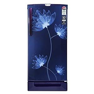 Godrej 190 L 4 Star Inverter Direct-Cool Single Door Refrigerator with Jumbo Vegetable Tray (RD 1904 PTDI 43 DI GLASS…