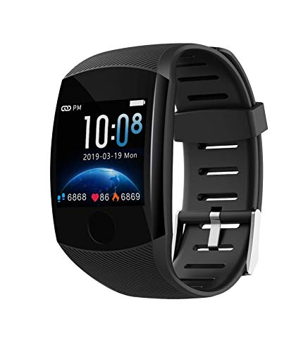 Deyawe Fitness Tracker,2019 Upgraded IP67 Activity Tracker Watch with Heart Rate Monitor Step Counter Calorie Counter Pedometer for Men Women Kids