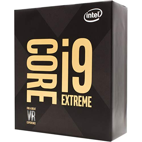 Intel Core i9-9980XE Extreme Edition Processor 18 Cores up to 4.4GHz Turbo Unlocked LGA2066 X299 Series 165W Processors - Extreme Intel Series