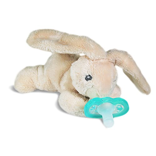 Removable Bunny - RaZbaby RaZ-Buddy JollyPop Pacifier Holder / Pacifier Removable / Bunny