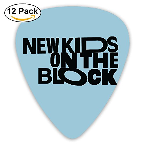 (New Kids On The Block Sampler Guitar Picks - 12 Pack Complete Gift Set For Guitarist Best Gift For Guitarist)
