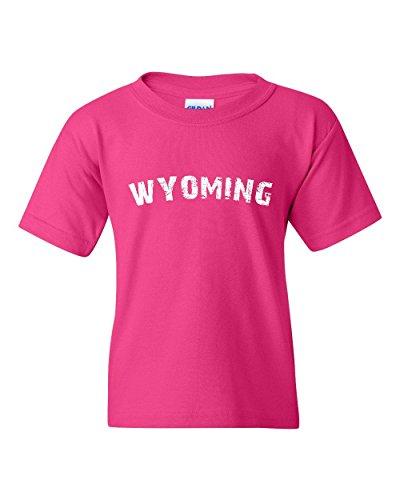 Ugo Wyoming WY Cheyenne Map Cowboys & Cowgirls Home University of Wyoming Unisex Youth Kids T-Shirt - Dress Store Zone Da