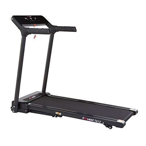 Slimline Motorized Treadmill with Bluetooth, Folding and Incline for Running & Walking by EFITMENT T013