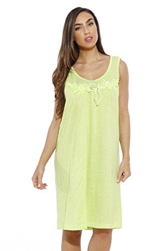1521A-M Kiwi Dreamcrest Nightgown / Womans Pajamas / Women Sleepwear,Kiwi Scoop Neck,Medium