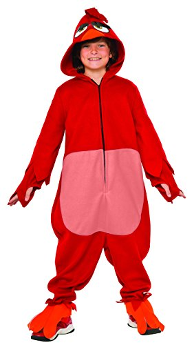 Rubie's Costume Kids Angry Birds Movie Costume, Red, (Angry Birds Red Bird Dress Costume)