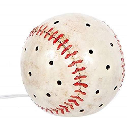 DEI Baseball Sports Plug in Tabletop Night Light,White]()