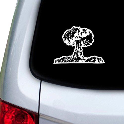 StickAny Car and Auto Decal Series Mushroom Cloud Sticker for Windows, Doors, Hoods (Mushroom Series)