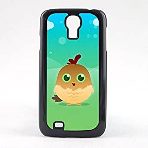 Case Fun Case Fun Brown Chicken by DevilleART Snap-on Hard Back Case Cover for Samsun Galaxy S4 Mini (I9190) by heywan