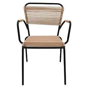 Three Hands 32.5u0026quot; Metal/Plastic Arm Chair ...