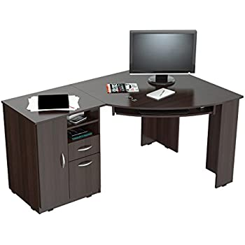 Inval ET 3115 Corner Desk. Amazon com  Inval ET 3115 Corner Desk  Kitchen   Dining