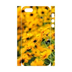 3D Very Yellow Case For Iphone 5/5S Cover Cases Unique For Guys, Cell Phone Case For Iphone 5/5S Cover [White]
