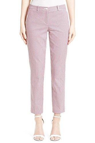 (Michael Kors Plaid Women's Capris Cropped Dress Pants Pink 8 )