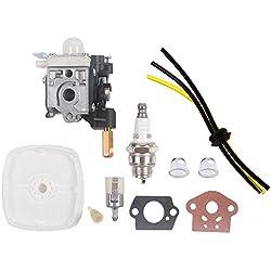 SaferCCTV Carburetor RB-K70A with Repower Maintenance Kit for ECHO Trimmer Brushcutter GT230 GT231 PAS230 PAS231 PE230 PE231 PPT230 SRM230 SRM231