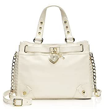 Juicy Couture Signature Leather Daydreamer Yhru3657 Shoulder Bag,one Size (White)