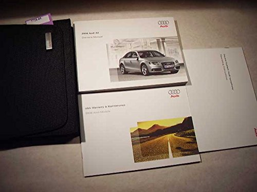 2009 audi a4 owners manual - 1