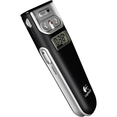Logitech 2.4 GHz Cordless Presenter (Black) by Logitech