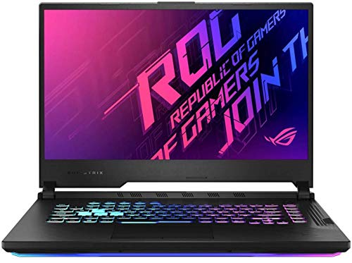 Asus Gaming Laptop ROG Strix G15 i7-10750H(8 Gb Ram,512G SSD,15.6 FHD-144hz,GTX1650Ti-4GB,RGB Backlit,WIFI6,WIN10,,Electro Punk),G512LI-HN126T