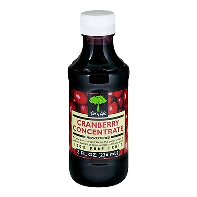 Cranberry Juice Concentrate Unsweetened 8 Ounces - (Pack of 1) -