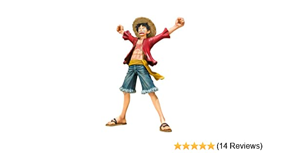 Amazon Com Bandai One Piece Monkey D Luffy Figuarts Zero