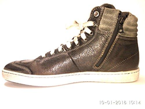 Santoni Grau Sneaker Gentiluomo