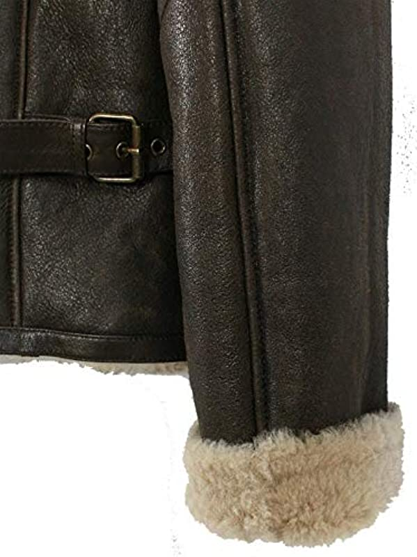 Jilani – męska kurtka ze skÓry jagnięcej kurtka skÓrzana brązowo-beżowa: Odzież