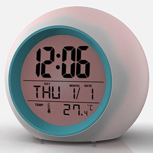2017 newest upgraded alarm clock premium digital display model for adults kids teens - Unique alarm clocks for teenagers ...