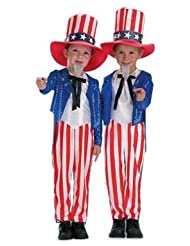 Child's Uncle Sam Patriotic Costume