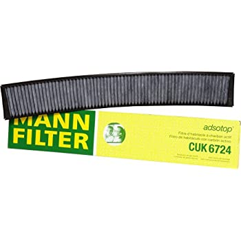Mann-Filter CUK 6724 Cabin Filter With Activated Charcoal for select BMW models