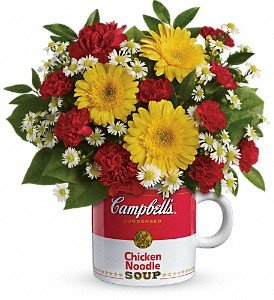 Campbell's Get Well Mug - Fresh Flowers Hand Delivered in Albuquerque Area by Albuquerque Florist