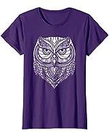 Womens Maverick Infanta Inspirational Owl CUAI0018 XL Purple
