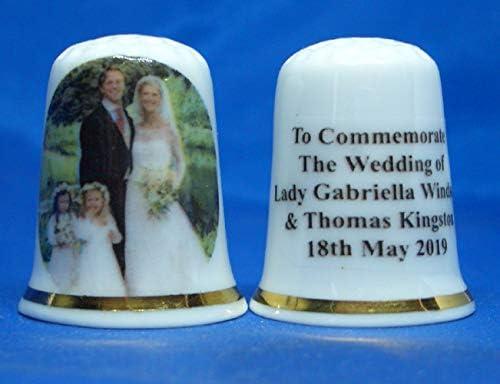 Wedding of Lady Gabriella Windsor /& Thomas Kingston Birchcroft Fingerhut aus China zum Sammeln
