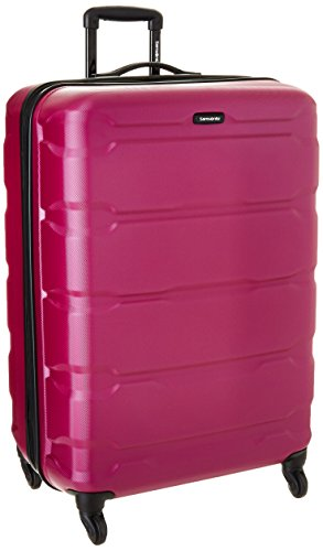 (Samsonite Checked-Large, Radiant Pink)