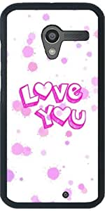 Funda para Motorola Moto X (Generation 1) - Te Amo by More colors in life