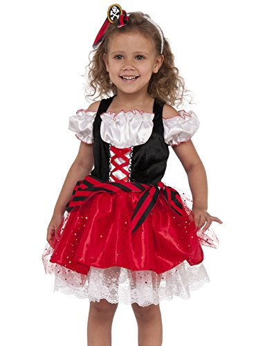 Rubies Costume Child's Sweet Pirate Costume, Small, Multicolor]()