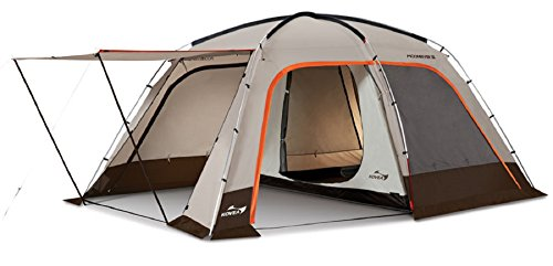 Kovea MoonRiver3 Family Tent with Inner Tent Ground Sheet Roof Tent 4 People Tent Camping Tent Hiking Outdoor Activities