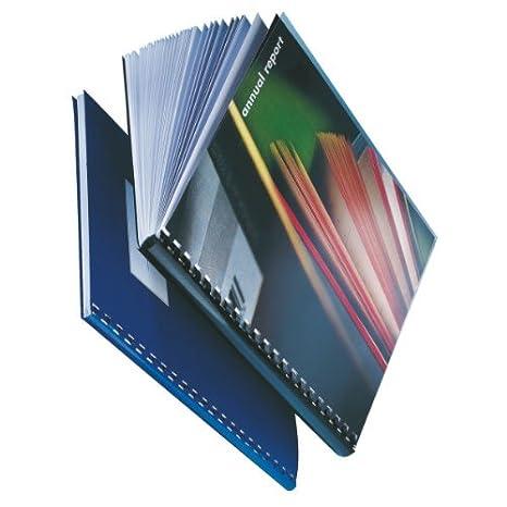 10972 PVC Confezione da 100 pezzi Leitz Nero 16 mm ComBIND Dorsi in plastica