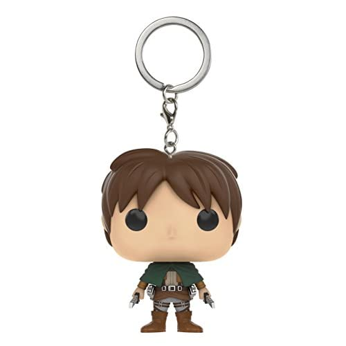 FunKo 10850-PDQ - Pocket POP! - Porte-clés - Attack on Titan - Eren Jaeger