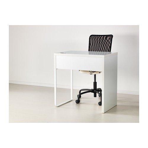 Ikea Micke Scrivania.Ikea Micke Desk White 73x50 Cm Amazon Co Uk Kitchen Home