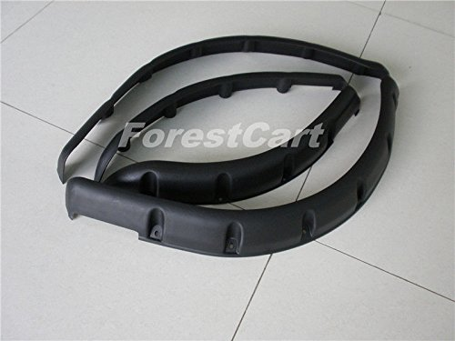 Club Car DS Fender Flares Front & Rear (Set of 4) Molded Plastic w/ Hardware (Club Car Ds Fender Flares compare prices)