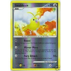 Pokemon Platinum Single Card Swablu SH5 Shining Holofoil Rare [Toy]