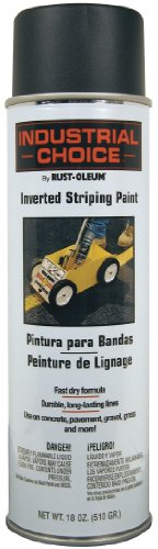 Field Marking Machine (Rust-Oleum 1677838 S1600 System Inverted Striping Paint, 18-Ounce, Black)