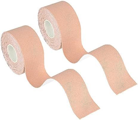 Bewish - Cinta adhesiva para tatuaje (algodón, resistente al agua, 2 rollos/paquete): Amazon.es: Belleza