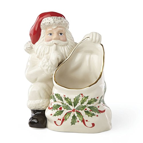 (Lenox 879344 Hosting The Holidays Candy Dish, Multicolor)