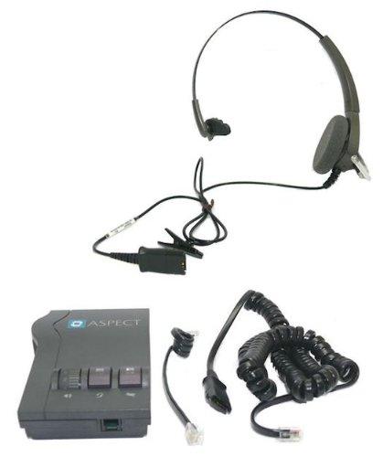 (Plantronics Aspect M12 Vista Amplifier and Encore H91 Voice Tube Headset )