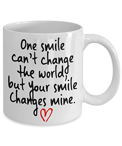 one smile can change the world