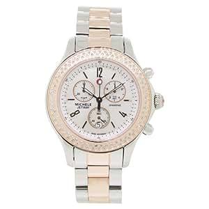 Michele Jetway Diamond Two-Tone Ladies Watch MWW17A000017