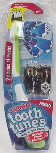 "Turbo Tooth Tunes Battery Powered Toothbrush, Jonas Brothers ""Hold On"""